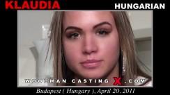 Casting of KLAUDIA video