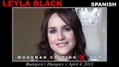 Casting of LEYLA BLACK video