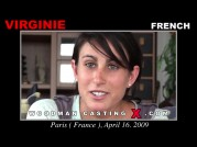 See the audition of Virginie