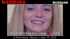 Casting of BAMBINA video