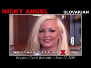 See the audition of Nicky Angel