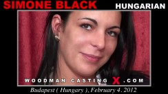 Casting of SIMONE BLACK video