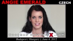 Casting of ANGIE EMERALD video