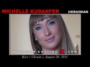 See the audition of Michelle Kudanfer