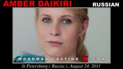 Casting of AMBER DAIKIRI video