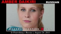 Casting of AMBER DAIKIRI video
