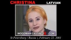 Casting of CHRISTINA video