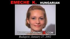 Casting of EMECHE K video
