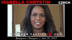Casting of ISABELLA CHRYSTIN video