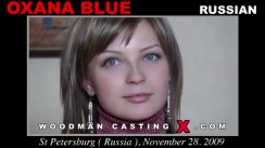 Casting of OXANA BLUE video