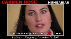 Casting of CARMEN ROSE video
