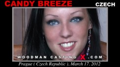 Casting of CANDY BREEZE video