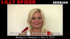 Casting of LILLY SPIDER video