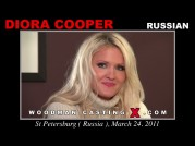 See the audition of Diora Cooper
