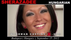 Casting of SHERAZADEE video