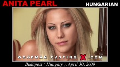 Casting of ANITA PEARL video