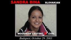 Casting of SANDRA BINA video