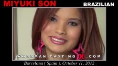 Casting of MIYUKI SON video