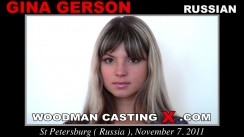 Casting of GINA GERSON video