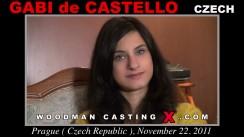 Casting of GABI De CASTELLO video