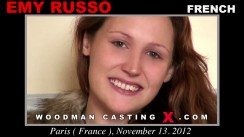 Casting of EMY RUSSO video