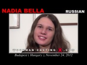 See the audition of Nadia Bella