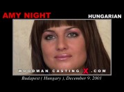 See the audition of Amy Night