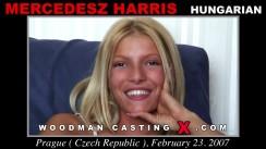 Casting of MERCEDESZ HARRIS video