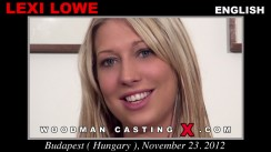 Casting of LEXI LOWE video