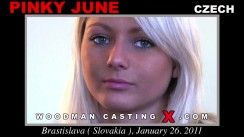 Casting of PINKY JUNE video