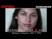 See the audition of Zafira Klass