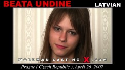 Casting of BEATA UNDINE video
