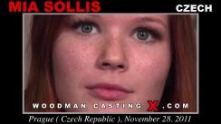 Casting of MIA SOLLIS video