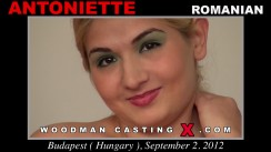 Casting of ANTONIETTE video