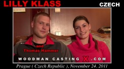 Casting of LILLY KLASS video