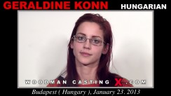 Casting of GERALDINE KONN video