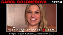 Casting of CAROL GOLDNEROVA video