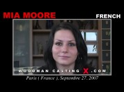See the audition of Mia Moore