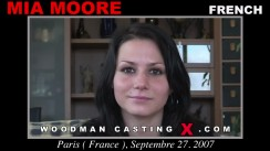 Casting of MIA MOORE video