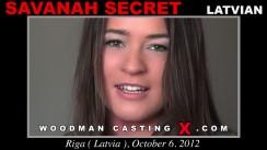Casting of SAVANAH SECRET video