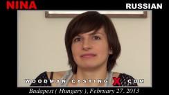 Casting of NINA video