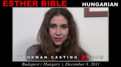 Casting of ESTHER BIBLE video