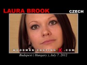 See the audition of Laura Brook