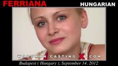 Casting of FERRIANA video