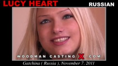 Casting of LUCY HEART video