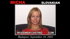 Casting of MICHA video