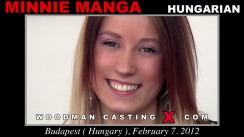 Casting of MINNIE MANGA video