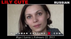 Casting of LILY CUTE video