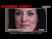 See the audition of Carmen Croft