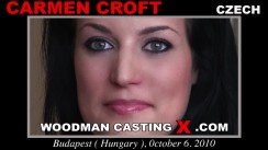 Casting of CARMEN CROFT video